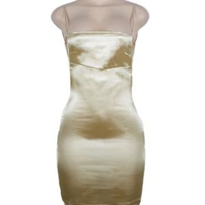 ✨ gorgeous sexy lil champagne small dress ✨